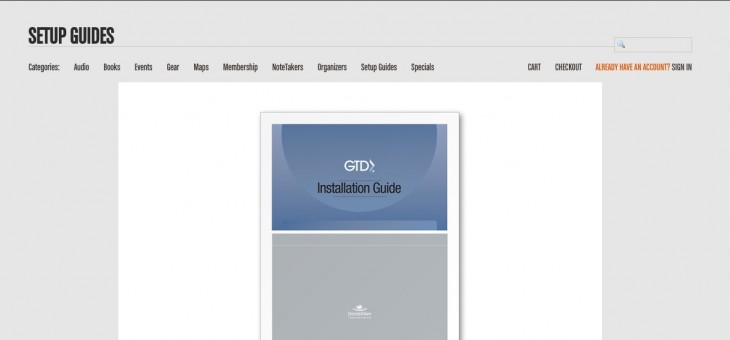 Using GTD® to learn GTD®